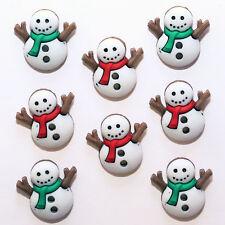 Boutons Dress It Up : Collection Noël - Bonhomme de Neige - Sew Cute Snowman