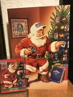 1990 Pro Set Santa Claus Greeting Card. Extremely Impossible to find. Rick Brown