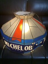 Classic 90s Michelob Beer Poker Pool Table Man Cave Hanging Sign Works