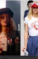 Authentic Adam Selman Tee Shirt As Seen On Rihanna! Bit*ch Better Have My Money