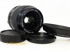 Minolta MD W Rokkor 28MM F2 Fast Wide Lens * ottime condizioni *