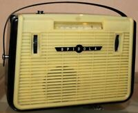 Spidola-VEF1 Radio Portable Receiver Radio LW MW SW USSR Rare Vintage 1961s