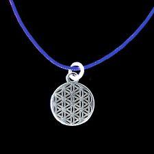 Anhänger Blume des Lebens 925 Silber mini klein Lebensblume Mandala Charm 10 mm