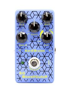 New Aural Dream EQ / Boost Cutoff Digital Guitar Effect Pedal