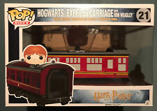 Funko Pop Rides Harry Potter Hogwarts Express Train Carriage w/Ron Weasley #21