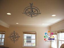 Wall Decor Decal Sticker Compass 127A