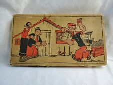 Old Vintage Popeye Pencil Box Case C. 1930'S King Features. C-100