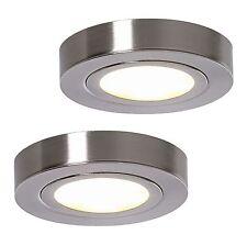 LED SET DE DOS Lámpara para montar 2x 3w Luz De Gabinete, de armarios