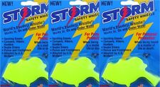 Storm Whistle loudest whistle in world  Yellow Safety Pack of 3