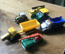 Set of 6 Diecast Trucks and other Vehicles Loose