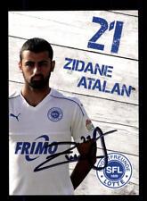 Zidane Atalan Autogrammkarte SF Lotte 2017-18 Original Signiert+A 173791