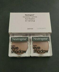 Neutrogena Satin Eye Shadow 0.1 Oz (3g) Each DESERT ROSE 40 (Box of 2)