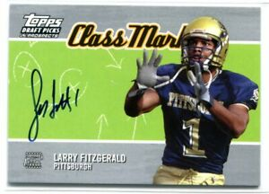 2004 Topps Draft Picks & Prospects Class Marks LF Larry Fitzgerald Rookie Auto