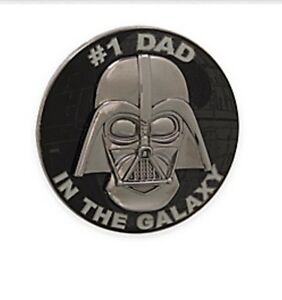 Disney Star Wars Darth Vader Limited Edition # 1 Dad Pin Fathers Day Gift New