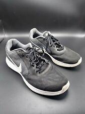 Nike Revolution 3 Men's Running Shoes US 12 UK 11 EUR 46 Black Grey