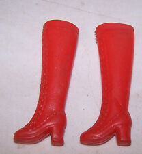 Vintage Barbie Red Boots
