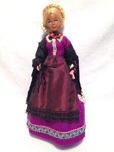 "Vintage Firenze Venezia Italian Blonde Hair Doll 9"" Figure Italy Souvenir 1960's"