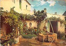 BR15465 Charente Maritime Cour fleurie d une coquette maison charentais   france