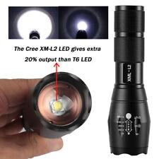 Zoomable 20000LM X800 Polizei Taschenlampe Upgraded L2 LED Militär Fackel Licht