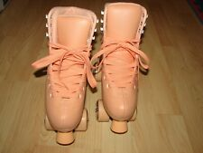C Seven C7 Cute Roller Skates for Girls and Adults, Peachy Keen, Women' s Size 8