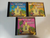 EL CINE DE LOS NIÑOS BANDAS SONORAS 3 X CD ARISTOGATOS LIBRO DE LA SELVA DISNEY