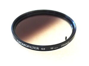 52mm CROMOFILTER G2 Filter - Graduated Grey - EXCELLENT