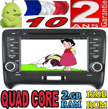 ANDROID 10 AUDI TT 2006-2014 VOITURE GPS WIFI 3G DVD RADIO USB 2GBRAM DAB+ CAR