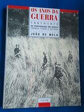 BOOK PORTUGAL AFRICA COLONIAL WAR OS ANOS DE GUERRA 1961 - 1970