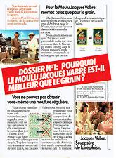 Publicité Advertising 117  1982   café moulu Jacques Vabre