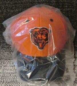 Vintage Logo Chicago Bears Embroidered Bear Adjustable Hat Cap New Sealed