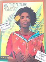 WE THE FUTURE Amanda Gorman Litho Art Print Poster Obey Giant Shepard Fairey