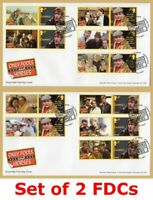 2021 ONLY FOOLS AND HORSES SMILERS *SET OF 2* FDC FIRST DAY COVERS