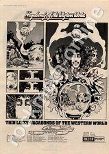 Thin Lizzy Vagabonds Of The Western World Boobs Bristol MM3 LP/Tour advert 1973