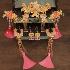 Chinese Style Bride Headdress Hair Ornaments Ancient Costume Accessories Tassel