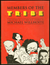 """Members Of The Tribe Caricatures Of Gay Men And Lesbians"" HC/DJ 1993 FABULOUS!"