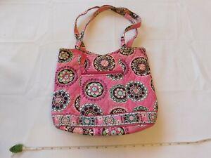 Vera Bradley Cupcakes Pink Shoulder Bag Purse Bucket Style Bag pre-owned