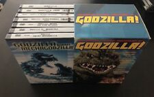 CELEBRATING THE 50TH ANNIVERSARY OF GODZILLA 7 PACK DVD SET LIKE NEW CONDITION