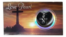 Love Pearl Necklace Kit, Simulated Pearl in an Oyster - Cross Necklace