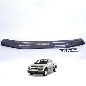 For 2004 06 07 09 Chevy Colorado Gmc Canyon Front Bug Guard Hood Deflector Smoke