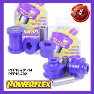 PFF16-701-14 / PFF16-702 Powerflex For Fiat Bravo 07- FrWishbone Bushes 14mmBolt