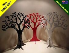47CM JEWELLERY TREE DISPLAY STAND LARGE SIZE + *FREE GIFT* CHOICE OF COLOURS.
