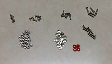 USA Shipping - 70 pc M2 4, 6, 8, 10, 12mm Screw and Nuts Set Phillips Flat Head