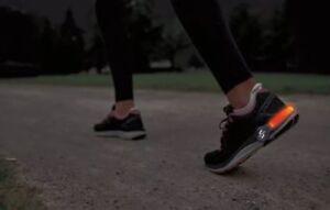 Sportline LED Heel Clip- Two LED Light Tubes For Both Feet - NIP- FREE SHIPPING