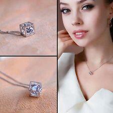 New fashion Dolphin Pendant Amethyst fashion magic cube necklace chain charming