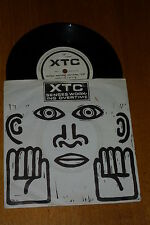 """XTC - Senses Working Overtime - Rare 1982 UK limited edition 3-track 7"""" Single"""