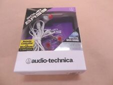 Audio-Technica Solid Bass In-ear Headphones ATH-CKS55XiS WT