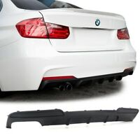 DIFFUSEUR ARRIERE PACK M PERFORMANCE DOUBLE SORTIE GAUCHE BMW SERIE 5 F10 F11