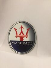 iron on transfer Maserati Logo 6CM X 7CM DIY your clothes black color