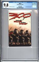 300 1 Frank Miller Deluxe DVD Movie Ashcan Variant CGC 9.8 Comic NM /Mint 1 2008