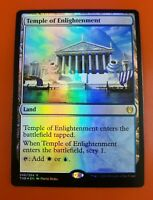 1x Temple of Enlightenment | FOIL | Theros Beyond Death | MTG Magic Cards
